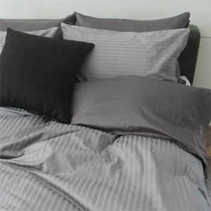 Hotel gray bedding set