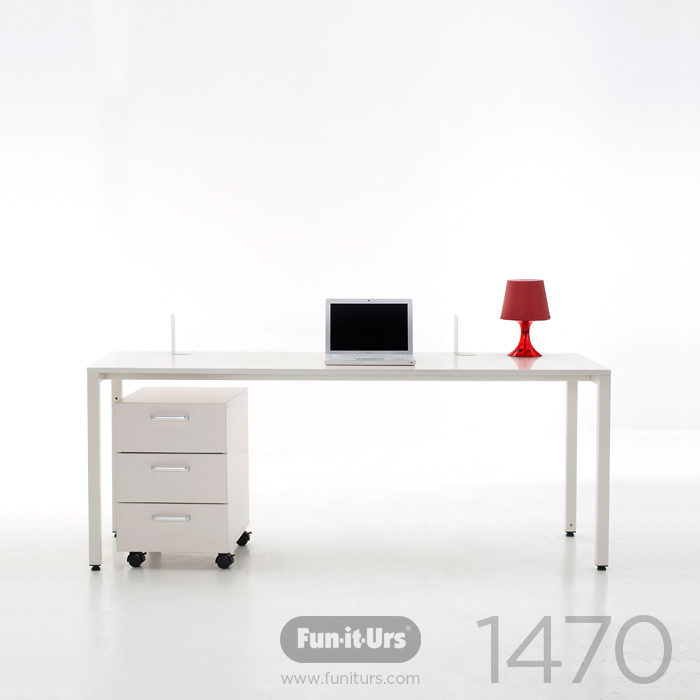 [OUTLET]F1DESK 1470 WHITE