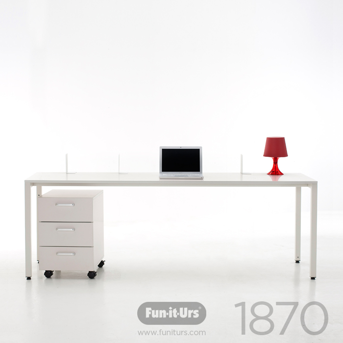 [OUTLET]F1DESK 1870 WHITE