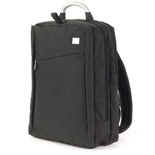 [LEXON] AIRLINE Double Back pack - Wool Black - LN314WN4