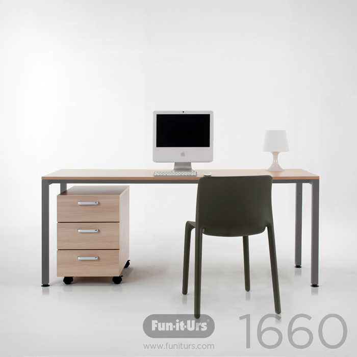 F1DESK 1660 NATURAL_GREY