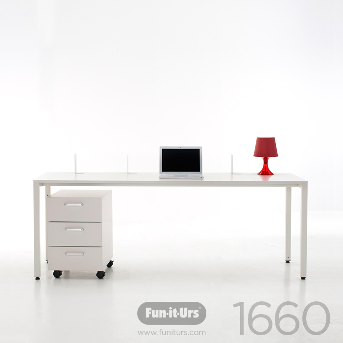 [OUTLET]F1DESK 1660 WHITE