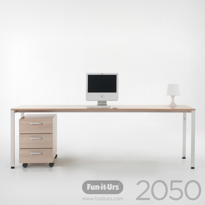 F1DESK 2050 NATURAL_WHITE