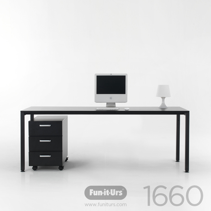 [OUTLET]F1DESK 1660 BLACK