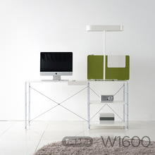 WIRE DESK w1600 d600 SILVER_WHITE